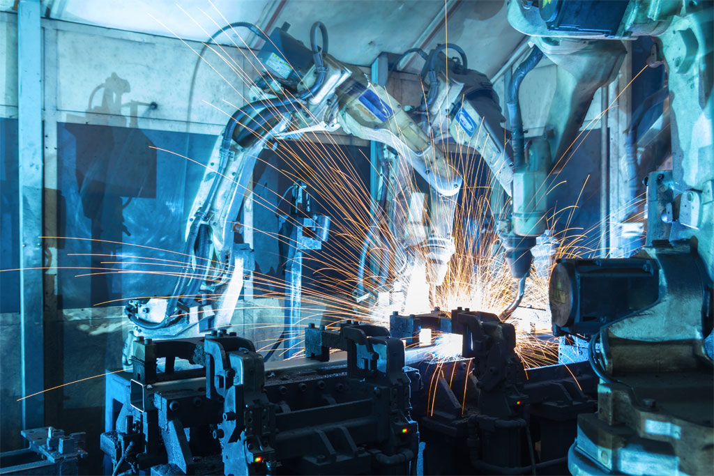 Brochas para máquinaria industrial